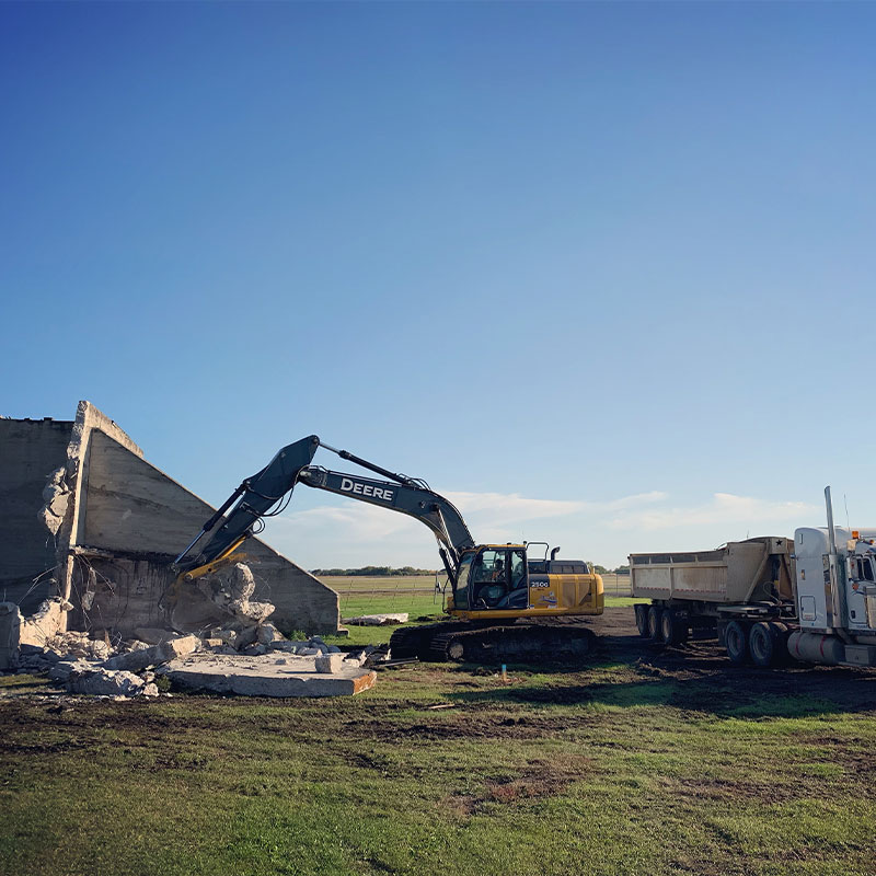 Airport Demolition